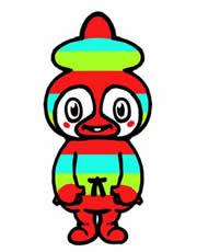 ぶトモー-沖縄県本部町のキャラクター。 | イメキャラブック